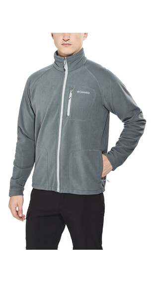 Columbia Fast Trek II Full Zip Fleece Men Graphite Steam